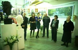.Выставка Скульптор в гостях у скульптора Открытие выставки, 6 декабря, 2012 г.