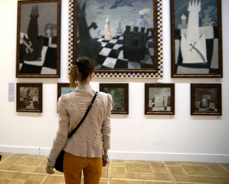 Выставка «АРТ МЕТАНАРРАТИВ». Группа «Форум». Живопись, графика. Москва до 12.05 16 зал