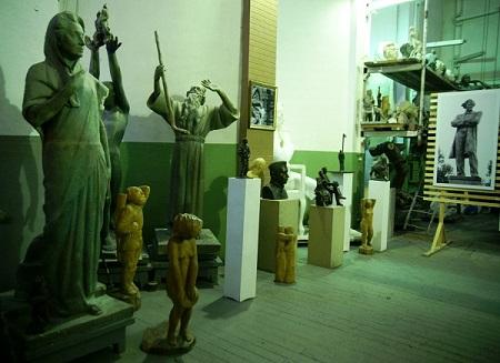 Мастерская скульптора Рябичева, 2013 г.