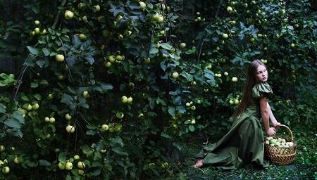 Яблочный Спас фото: Александра Загряжская (Даниэла Рябичева, Творческая Мастерская Рябичевых) 2006 г.