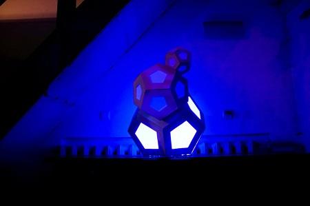 записки о художниках, Мастерская Александра Рябичева Выставка Александры Апельсиновой Спираль Вселенной       ..