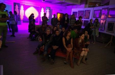 ..записки о художниках, Рябичев, Мастерская, выставка, Спираль Вселенной        .              .