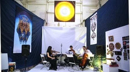 Выступление  Струнного Трио Маргариты Рыбниковой