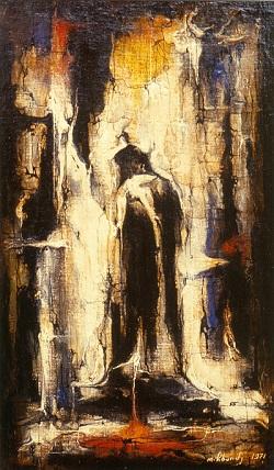 «Лао-Цзы»   37х22, 1971 г., холст, масло