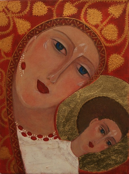 АЛЛА ПОНЯТОВСКАЯ Выставка «Cозерцая …Contemplating…» С 22 по 29 апреля  в галерее  Brusov Art Space