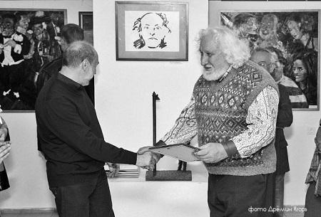 .Фото Игорь Дремин награждение Вячеслава Пилипера