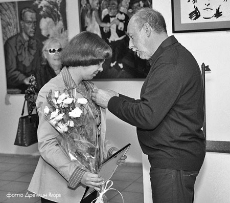 .фото Игорь Дремин награждение Маргариты Сюриной