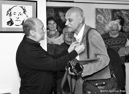 .фото Игорь Дремин награждение Сергея Погорелова