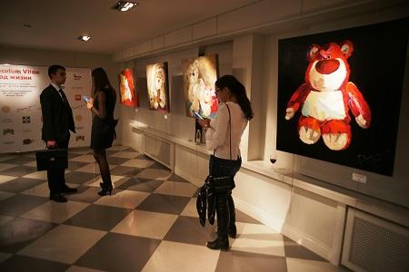 Выставка Дарьи Багринцевой  «CURRICULUM VITAE»   ( ХОД ЖИЗНИ ) в  Арт-центрVauxhall