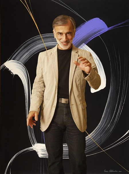Художник Омар Чхаидзе фото: Александра Загряжская, 2006 г.
