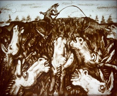 Шеомир Гучепшоко, Sand art (2)
