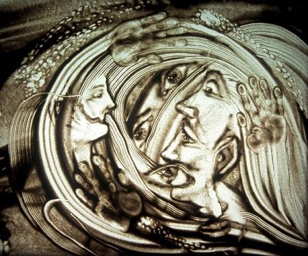 Шеомир Гучепшоко, Sand art  (4)