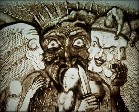 Шеомир Гучепшоко, Sand art (5)