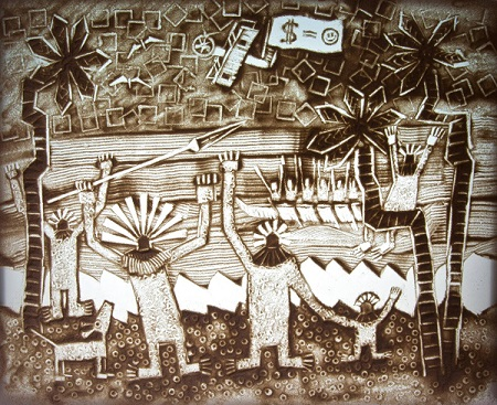 Шеомир Гучепшоко, Sand art (6)
