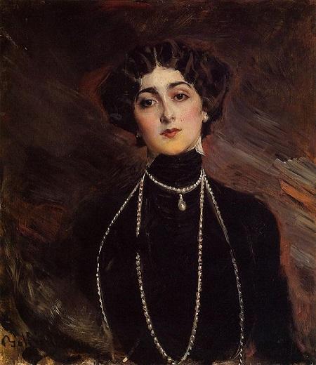 Дж. Больдини  Портрет Лины Кавальери около 1901 год