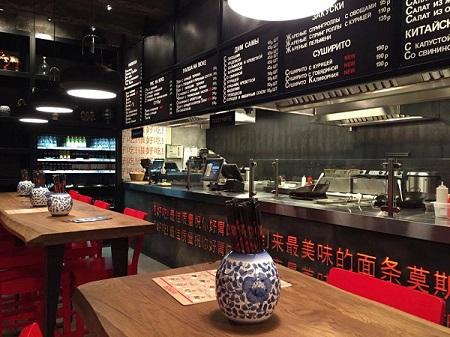 Китай Чи — это новое модное заведение для любителей паназиатской кухни.