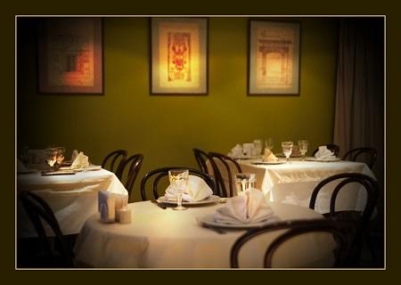 Хинкальная сеть кафе-ресторанов в Москве На фото: Хинкальная  в Воротниковском переулке